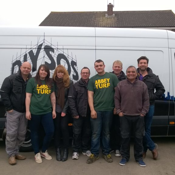 Abbey Lawn Turf As Featured on DIY SOS Team East Midlands