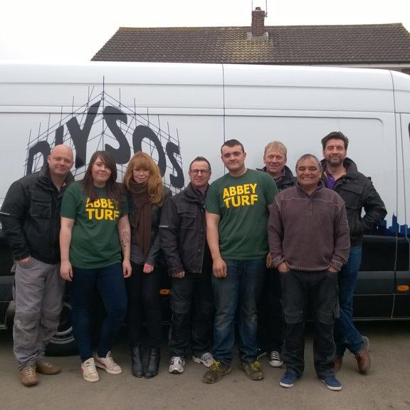 Abbey Lawn Turf As Featured on DIY SOS Team East Midlands